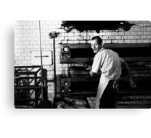 The baker Canvas Print