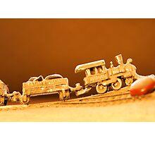 Tiny Train Photographic Print