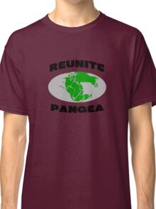 Reunite pangea geek funny nerd Classic T-Shirt