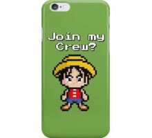 Join my Crew!! - One Piece iPhone Case/Skin