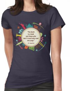 One Page Womens Fitted T-Shirt
