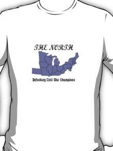 The north defending civil war champions geek funny nerd T-Shirt