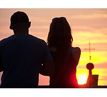An evening with you ! Photographic Print