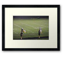 Sterling Football Framed Print