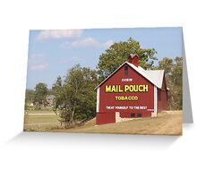 MAILPOUCH TOBACCO BARN #2 Greeting Card
