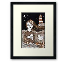 Eiligh's Light House Framed Print