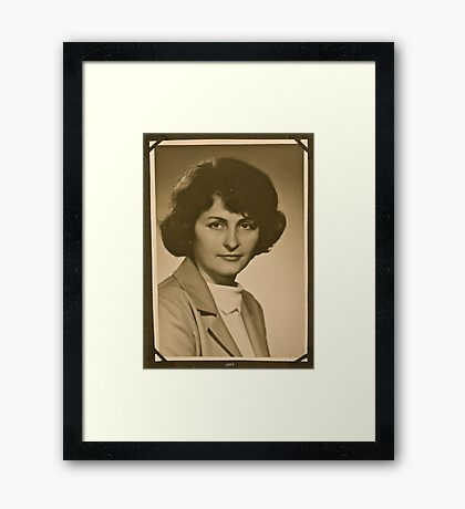 ❤‿❤ . My Mother - 1962 . Brown Sugar Life Book Story . Favorites: 2 Views: 806..  Bardzo dziękuję ! Thank you dear friends! Hold Your Memories. Buy what you like! Framed Print