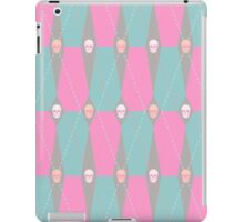 Coffin Plaid Pink iPad Case/Skin