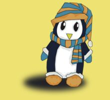 Mr. Penguin likes snow by AlmaAzul