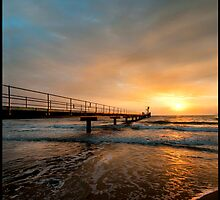 Early light, Clump Point Jetty by Susan Kelly