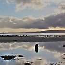 Reflection of Ettrick Bay. by Charles  Staig