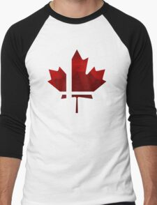Smash Canada Men's Baseball ¾ T-Shirt