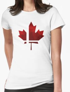 Smash Canada Womens Fitted T-Shirt