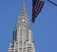 Chrysler Building and Flag by id4jd