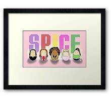 Girl Band Tiggles Framed Print