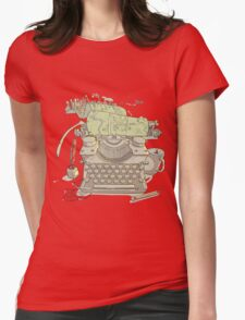 A Certain Type of City Womens Fitted T-Shirt