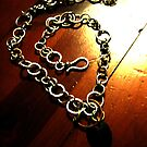 Chainmail Necklace by Veronica Maur'er