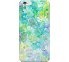 Enchanted Spring Floral Abstract iPhone Case/Skin