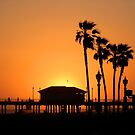 Huntington Beach Sunset by photographyfree