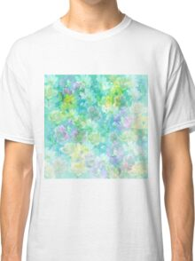 Enchanted Spring Floral Abstract Classic T-Shirt