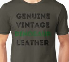 Dinosaur Leather Unisex T-Shirt