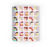 Prince & Princess Tiggle Profile Spiral Notebook