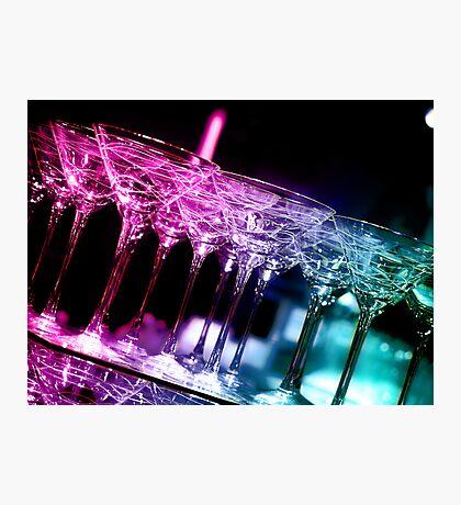more fancy martini glasses Photographic Print