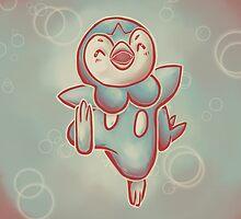 Piplup by GoodMoeJo