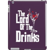 The Lord Of The Drinks iPad Case/Skin
