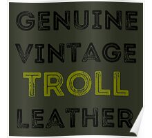 Troll Leather Poster