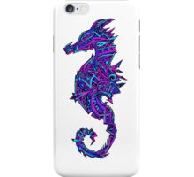 Abstract Seahorse iPhone Case/Skin