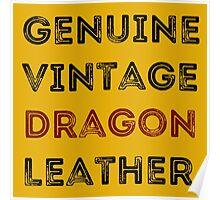Dragon Leather Poster