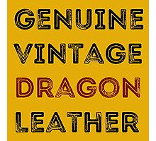 Dragon Leather Photographic Print