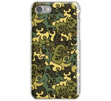 Military pattern. iPhone Case/Skin