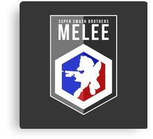 Smash Melee - Fox Canvas Print