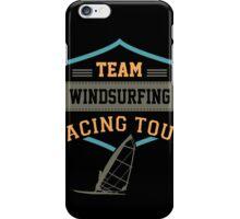 Team Windsurfing Racing Tour iPhone Case/Skin