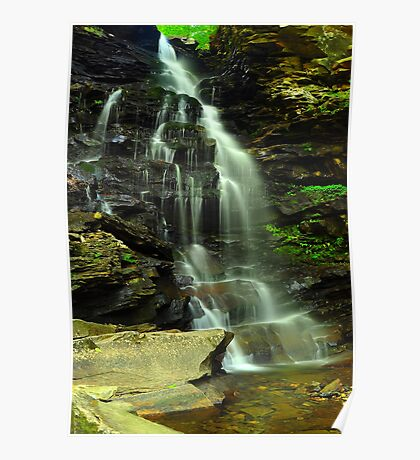 Ozone Falls Poster