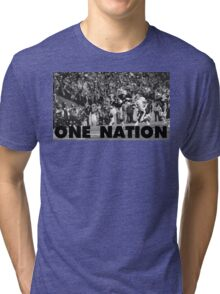 ONE NATION Tri-blend T-Shirt