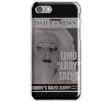 Limo Lady Talks ~ Hedwig and the Angry Inch iPhone Case/Skin