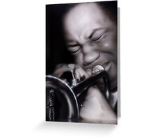 Clifford Brown Greeting Card