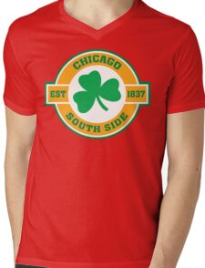 Chicago South Side Irish Mens V-Neck T-Shirt