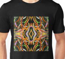 Scrolling Acrylics Unisex T-Shirt