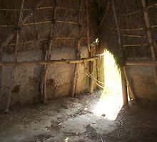 Inside the Home of the Natchez Indians by Dan McKenzie