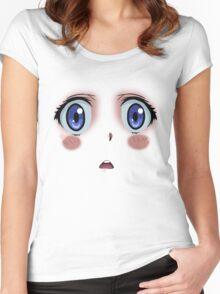 Anime Turmoil! Women's Fitted Scoop T-Shirt