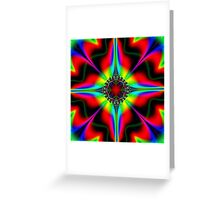 Colorful Topper  Greeting Card