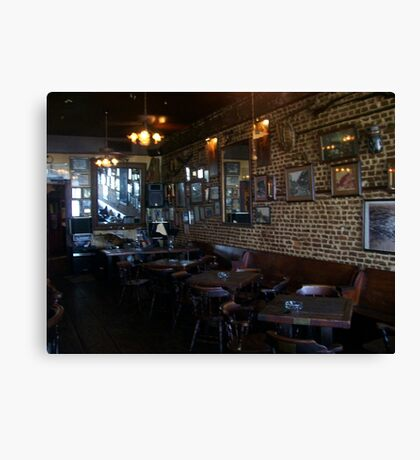Inside Under the Hill Saloon 2 - right side Canvas Print