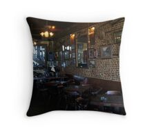 Inside Under the Hill Saloon 2 - right side Throw Pillow