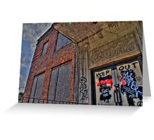 Old Coke Factory 1 - Tallahassee, FL Greeting Card