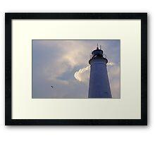 St. Marks Lighthouse - St. Marks, FL Framed Print