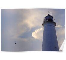 St. Marks Lighthouse - St. Marks, FL Poster
